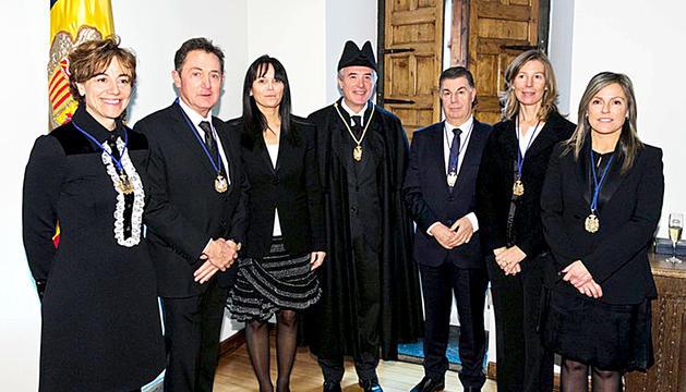 Jurament dels membres del CSJ, el novembre del 2017.