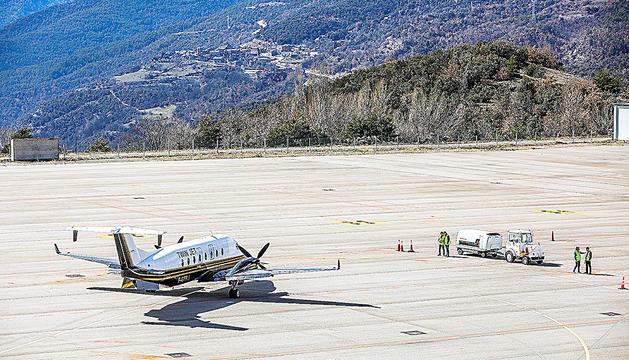 L'arribada de vols a la Seu pot portar més turisme.