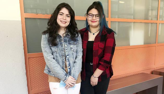 Noèlia Garcia i Laura Prados