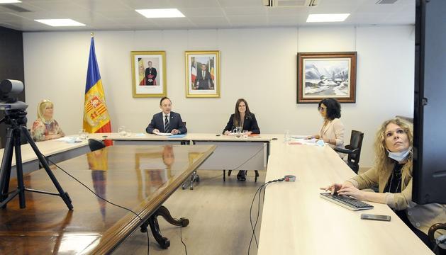 Reunió telemàtica de la Fundació Ramon Llull