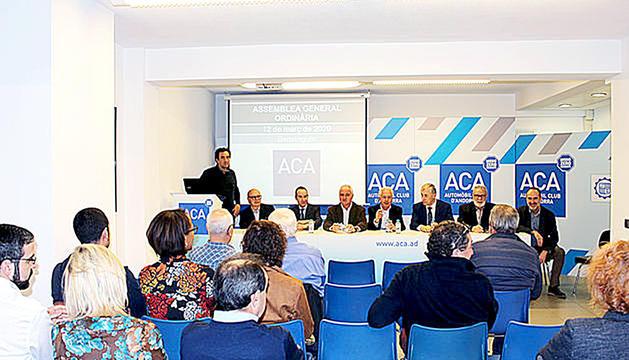 Una assemblea de l'Automòbil Club d'Andorra.