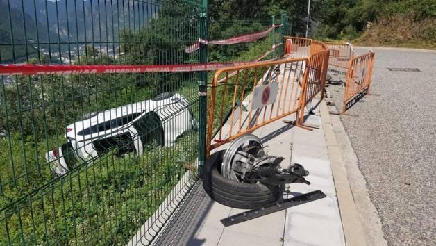 Accident en una urbanització d'Escaldes