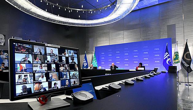 Comitè executiu telemàtic de la FIFA.