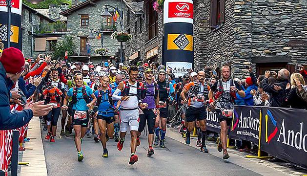 Imatge de l'Andorra Ultra Trail a Ordino