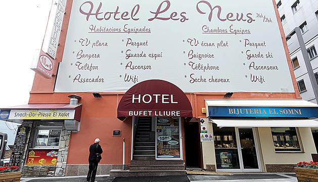 Un hotel del Pas de la Casa.