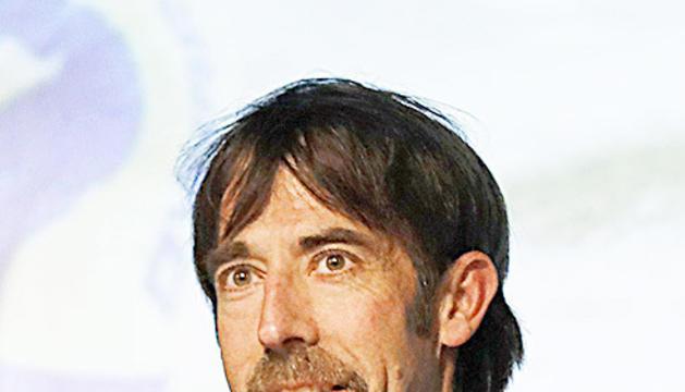 El cap de banders, Ferran Teixidó.