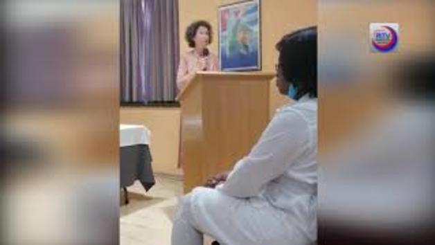 Discurs de comiat als sanitaris cubans