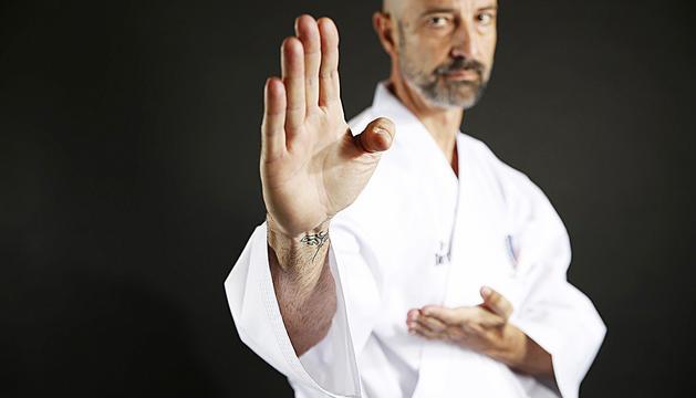 Xavi Herver, responsable del Karate Xavi Andorra.