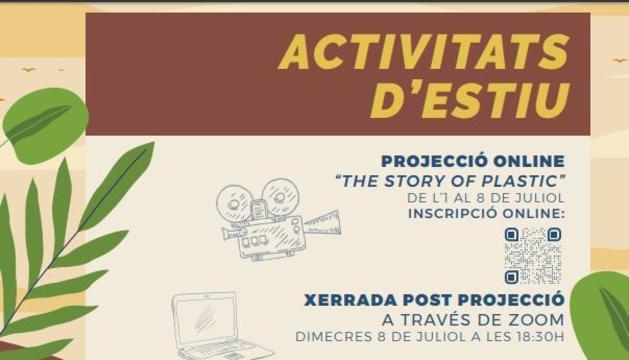 El cartell de les activitats d'Andorra Sostenible