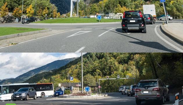 Tancament al trànsit de pujada entre la rotonda de la Margineda i la de Prat Salit