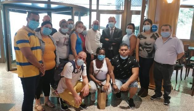 El comiat de Martínez Benazet als sanitaris cubans