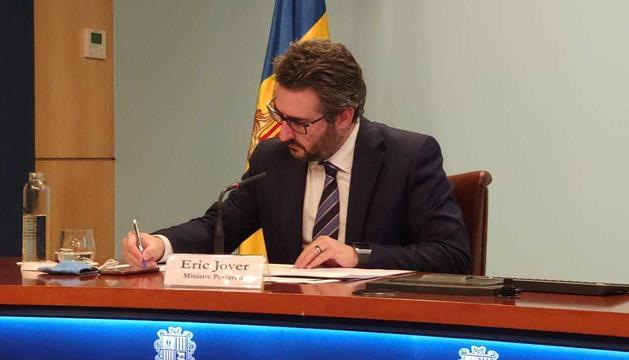 El ministre Eric Jover