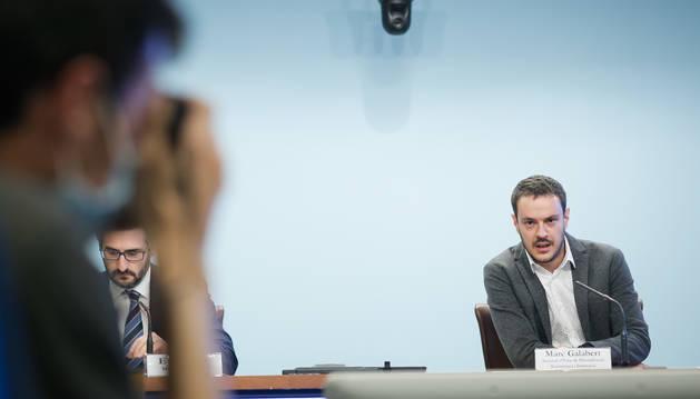 El secretari d'Estat de Diversificació Econòmica i Innovació, Marc Galabert