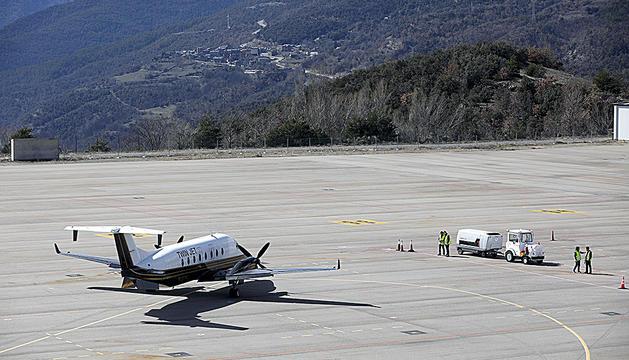 Aeroport d'Andorra-la Seu.