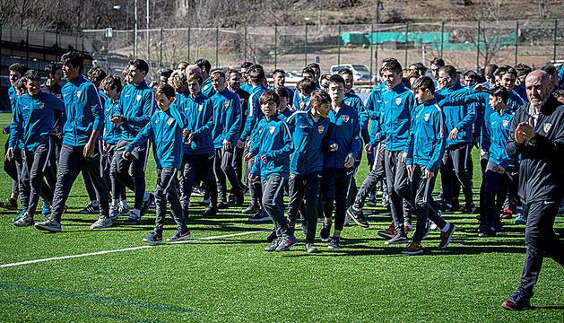 Base del Futbol Club Andorra.