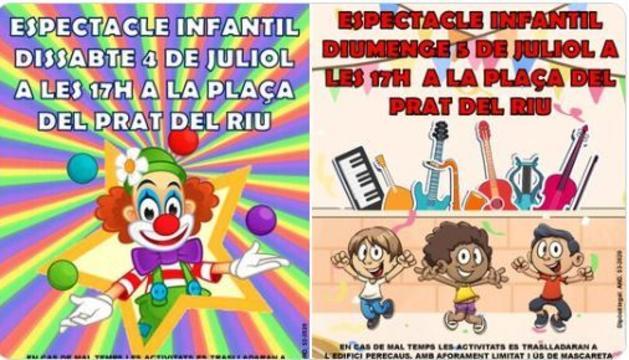 Espectacles infantils el cap de setmana a Canillo