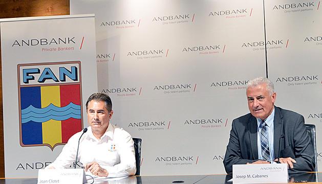 Joan Clotet i Josep Maria Cabanes.
