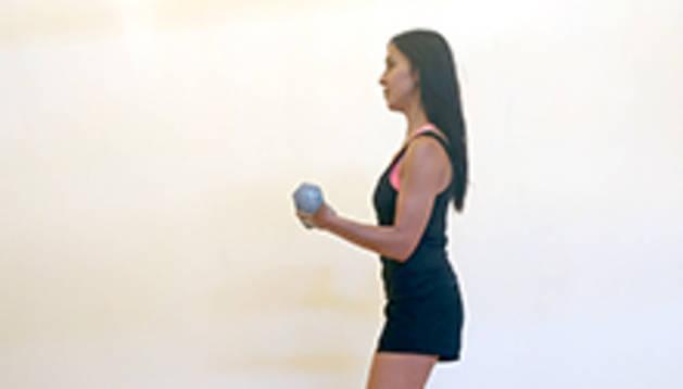 'Curl' de bíceps simultani