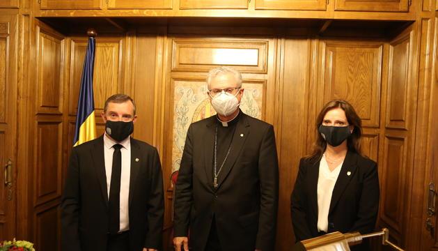 El Copríncep episcopal amb els cònsols de Sant Julià