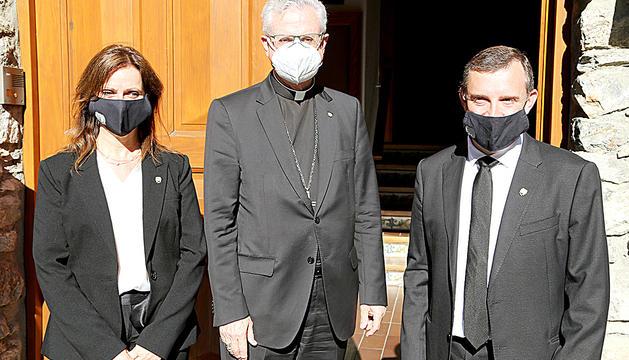 El Copríncep episcopal i els cònsols.