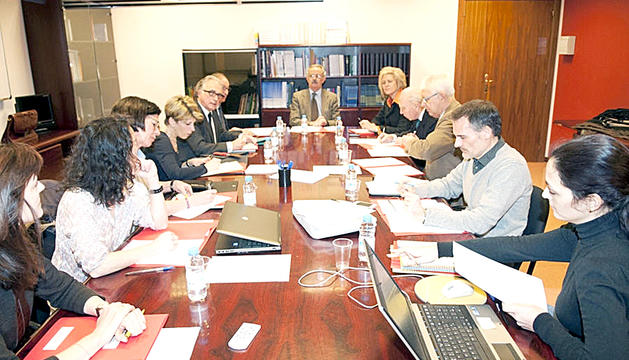 Una reunió del Comitè Nacional de Bioètica d'Andorra.