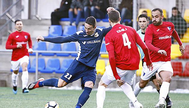 Últim duel entre Inter Club d'Escaldes i Vall Banc Santa Coloma disputat al desembre.