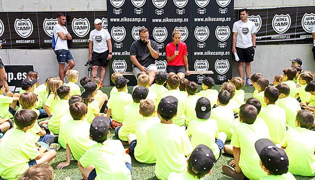Una edició anterior del Nike Camp.