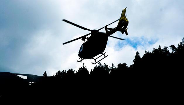 Un helicòpter en una imatge d'arxiu