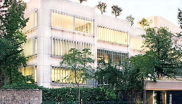 La seu de Tressis a Madrid.