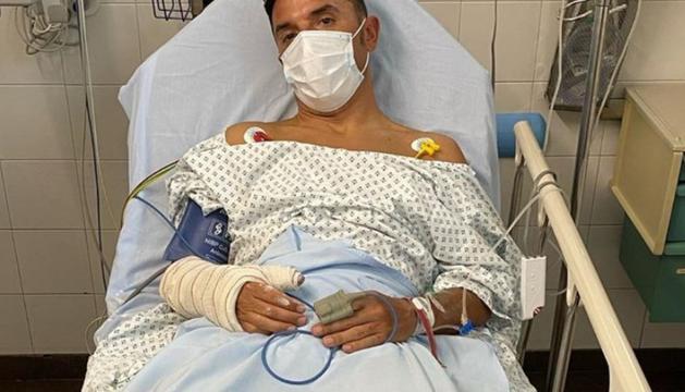 El ciclista 'Purito' Rodríguez a l'hospital