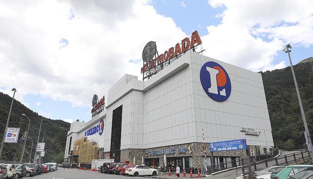 El centre comercial Punt de Trobada.
