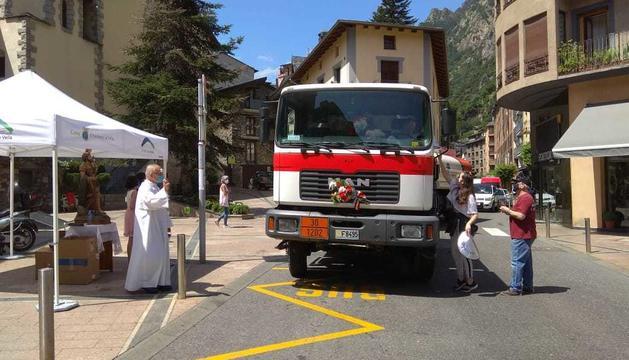 La benedicció a Andorra la Vella