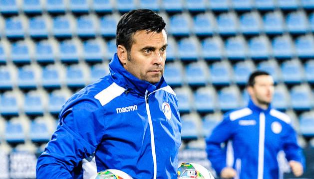 El seleccionador nacional, Koldo Álvarez de Eulate