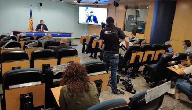 Eric Jover ha anunciat el setè contagi del brot d'Escaldes