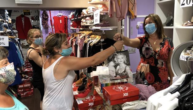 Vals de compra per reactivar el comerç a la Massana