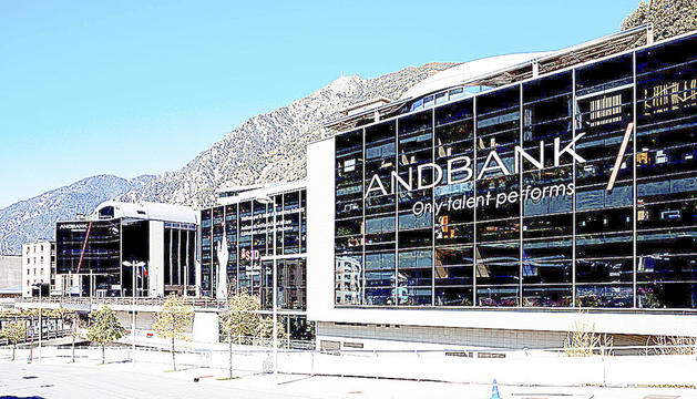 Les oficines d'Andbank.
