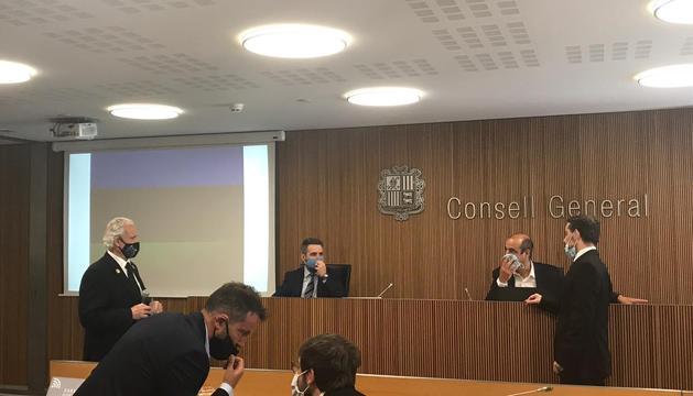 Eric Jover compareix aquest matí davant la comissió de Finances del Consell