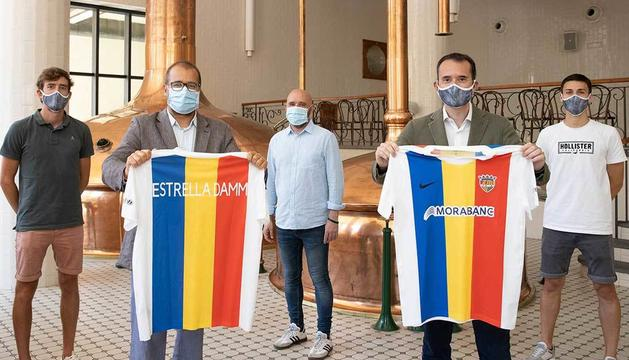 L'FC Andorra lluirà el nom de la marca en la part posterior de la samarreta