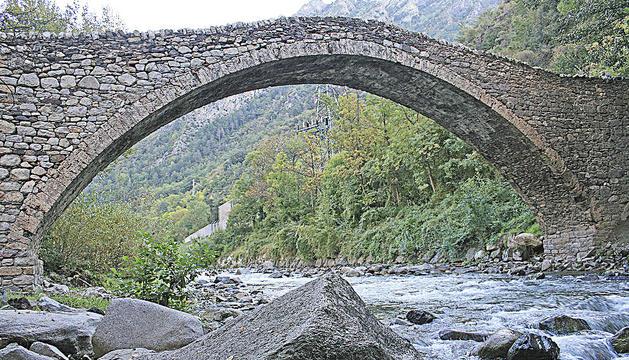 El pont de la Margineda.