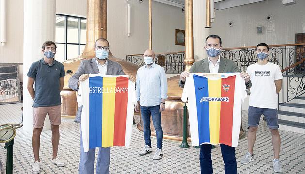 Estrella Damm, nou patrocionador oficial de l'FC Andorra