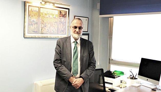 El doctor Joan Escoter Blavi.