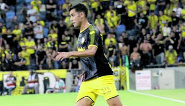 Borja Herrera, el que pot ser el primer fitxatge de l'FCAndorra, en un partit amb el Maccabi.