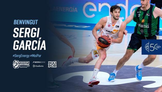 El MoraBanc ha anunciat el fitxatge de Sergi García