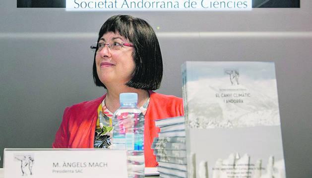 La presidenta de la SAC, Àngels Mach.