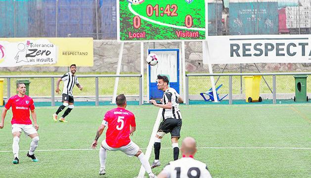 L'Inter Escaldes no va poder aprofitar la segona oportunitat per proclamar-se campió de lliga.
