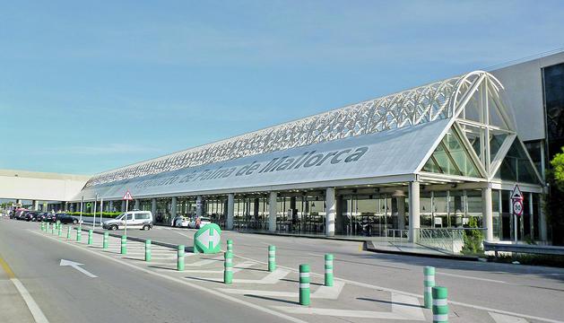 L'aeroport de Palma de Mallorca.