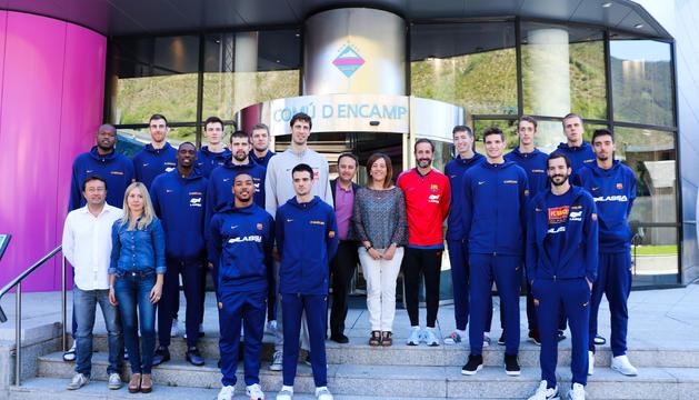 El Barça de bàsquet arribarà a Encamp el 23 d'agost