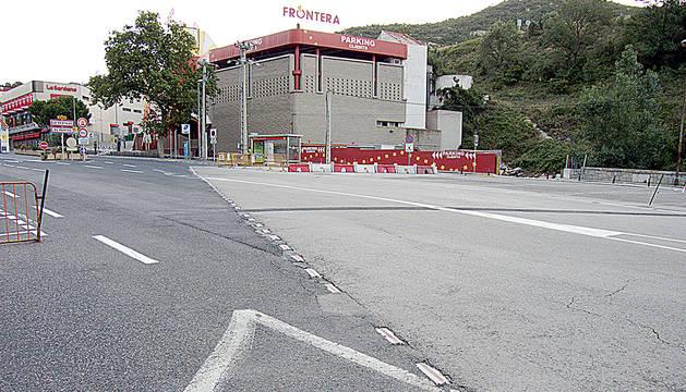 Frontera entre França i Catalunya, el Pertús.