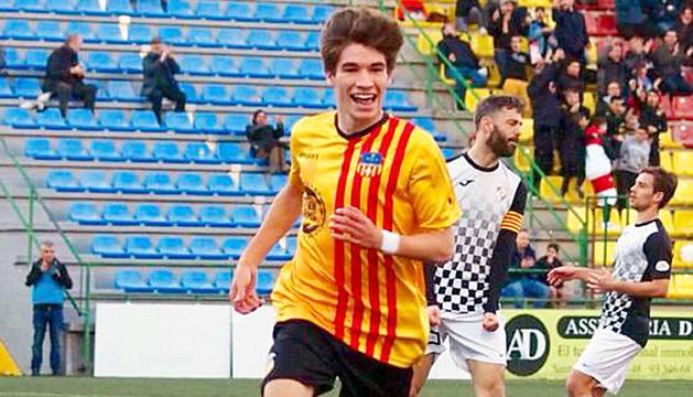 Sergi Serrano ha destacat aquest any al Sant Andreu.