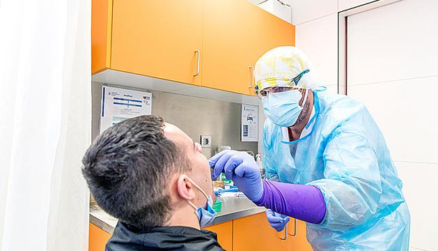 Realització de proves TMA al CAP de la Sardana.